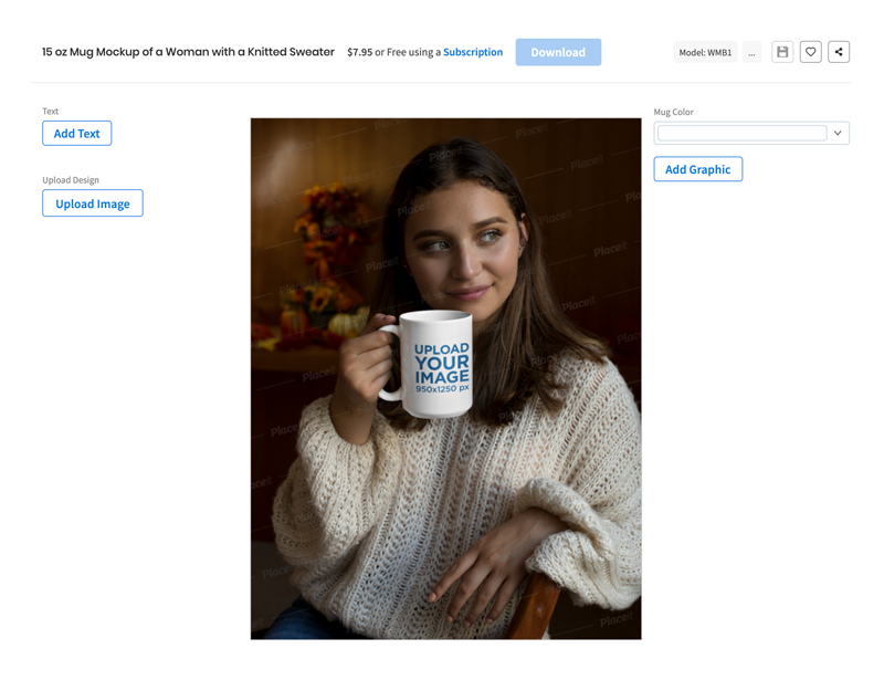 Follow the steps below to learn how to use a mug template