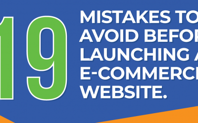 Top eCommerce Mistakes to Avoid When Launching an Online Store – Infographic