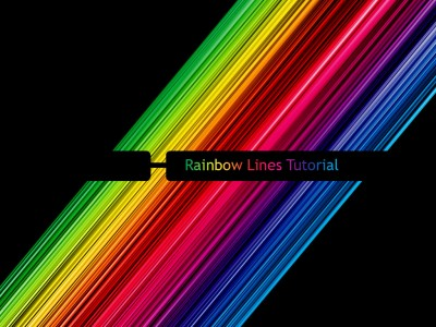 Rainbow Lines Tutorial