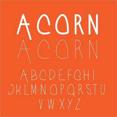 20 Amazing Free Fonts for Your Creative Work from 2012