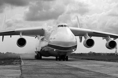 Antonov - Black & White