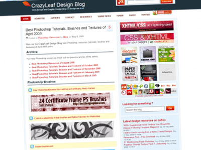 CrazyLeaf Design Blog