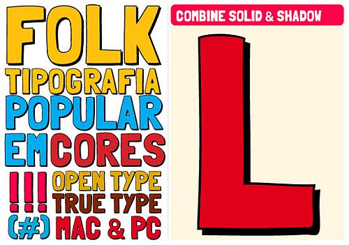 Folk Tipography