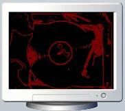 Flash screen saver
