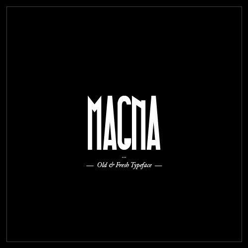 MAGNA Typeface – Black Condensed & Free