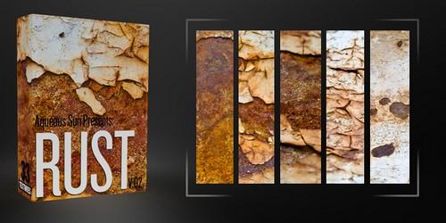 Aqueous Sun Presents Rust v.02 – 33 Free Textures