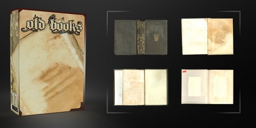 Old Books Pack – 17 Free Images