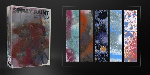 Spray Paint Textures Pack – 25 Free Images