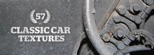 Freebies - 57 High-Res Classic Car Textures
