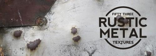 Free Textures - 53 High-Res Rustic Metal Sculpture Textures
