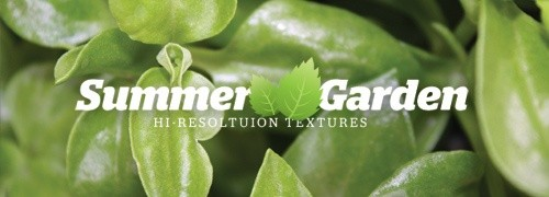 Freebies - 44 High-Res Summer Garden Textures