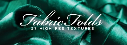 Free Textures - 27 High-Res Fabric Fold Textures