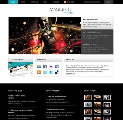 Magnifico WordPress Theme